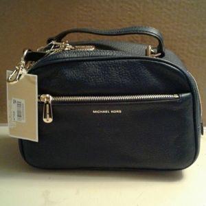 Michael Kors purse, navy blue color, Luka color